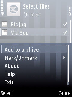 Add toArchive