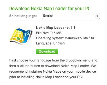 Nokia Map Loader v 1.3