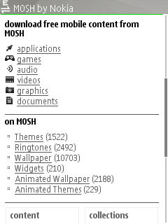 Mosh Mobile Optimised