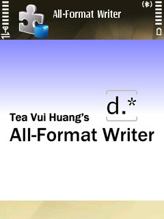 All-Format Writer