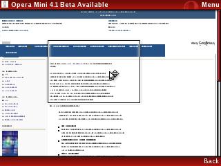Opera Mini 4.1 BetaAvailable
