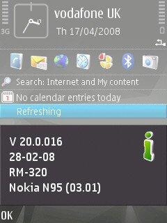 New N95 8GB Firmware