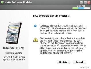 New Firmware v3.0633.69.00 For The E61i