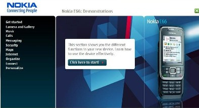E66 & E71 Demonstrations Up On Nokia\'s Website