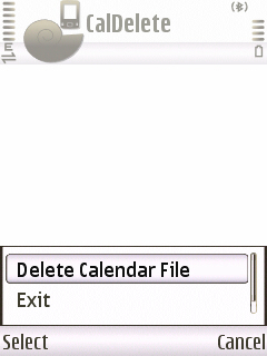 Delete All Calender Entries In One Go