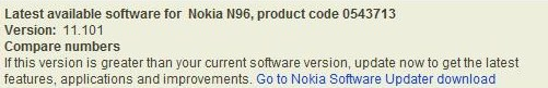 The N96 Updated Yet Again - v11.101 Is Out