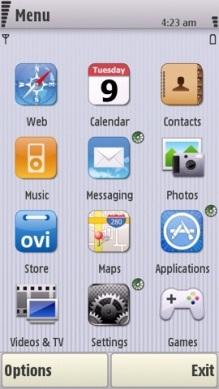 download nokia n97 themes 03 - 8 Novos temas para celulares Nokia s60v5 - n97 e 5800 XpressMusic