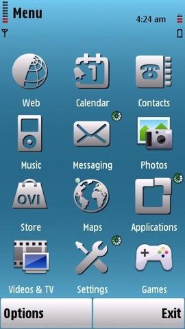 download nokia n97 themes 05 - 8 Novos temas para celulares Nokia s60v5 - n97 e 5800 XpressMusic