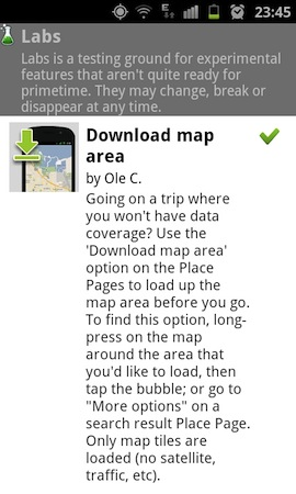 Preload Google Maps