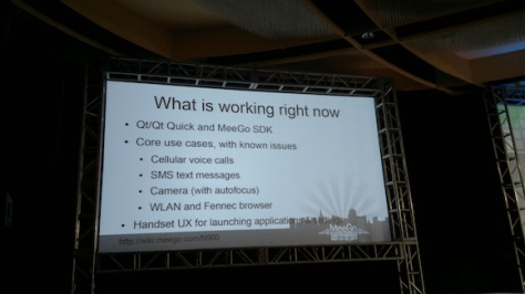 Demo Of MeeGo 1.2 Developer Edition On The Nokia N900