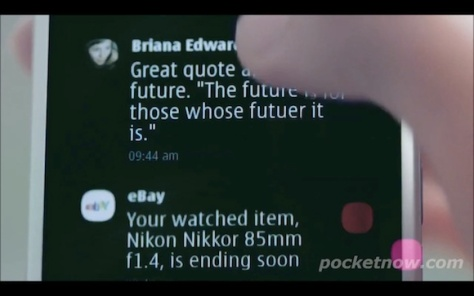 Nokia N9 / N950 Leaked Teaser