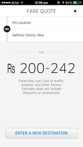 Uber's Affordable Luxury Rental Car Service Hits Delhi - Here's A Promo Code For Two Free Rides